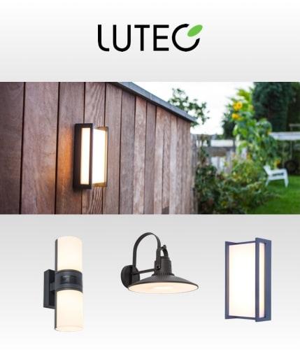 A range of Indoor and outdoor lighting from lutec lighting