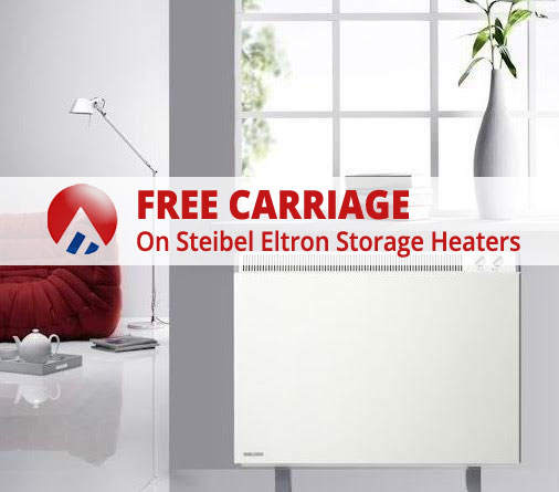 Free Carriage On Stiebel Eltron Storage Heaters