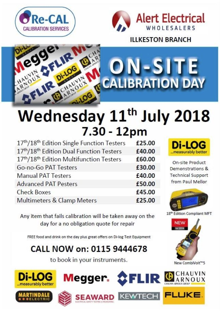 Calibration Day