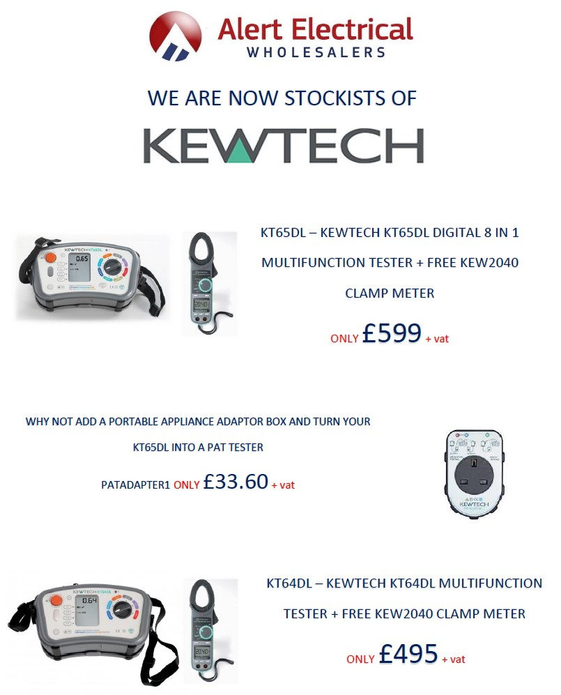 Kewtech Electricians Tools At Alertelectrical.com