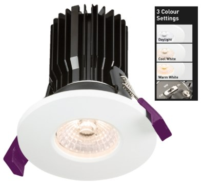 Adjustable Colour Temperature Downlights