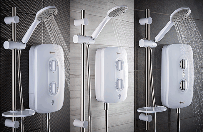 Has your Shower seen better days? Now is the best time to replace that lacklustre looking shower with fantastic savings all throughout July on the Redring Range of Electric Showers.
