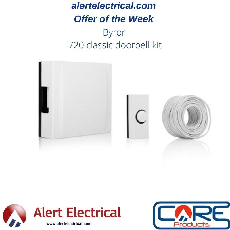 alertelectrical.com Offer of the Week. Byron Wired Classic Doorbell Kit