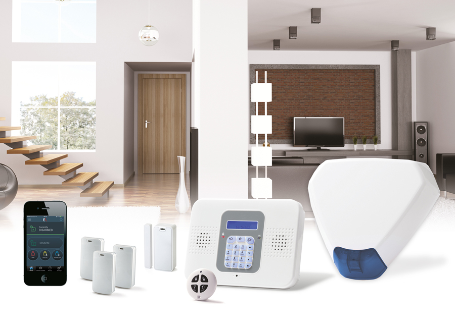 A Powerful, Convenient Wireless Alarm System. Electronics Line SecuPlace Plus allows users to enjoy a complete sense of control as well as peace of mind.