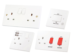 New Range Of Selectric Competitively Priced Square Edge Accessories