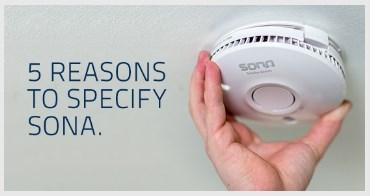 5 Reasons To Specify Sona