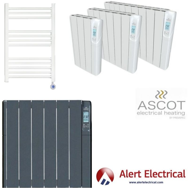 Ascot Thermo-Fluid Electric Heaters. Economically perfect for home or commercial buildings