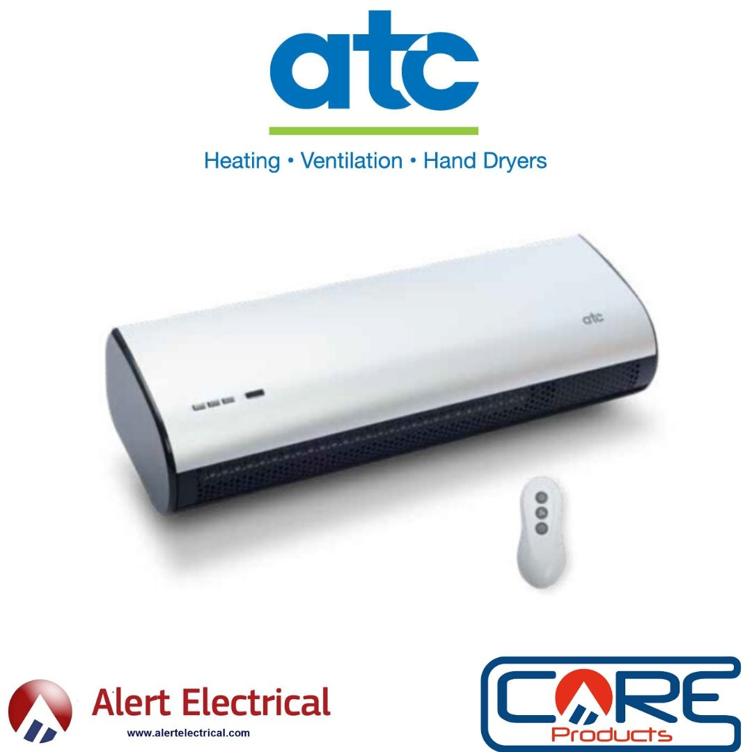 A Warm Welcome to Restaurants, Bars, Offices and Retail Shops with the ATC Welcome Overdoor Heater