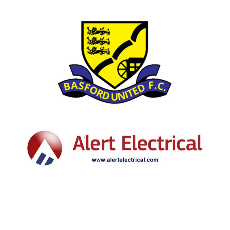 Alert Electrical Wholesalers are this seasons principal shirt sponsor for Basford United CFC Under 15s