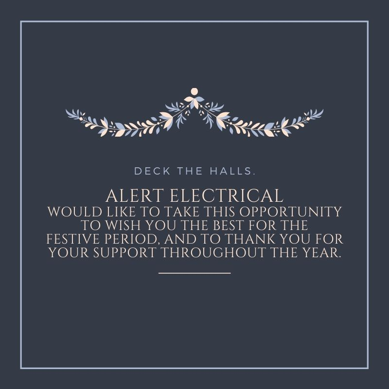 Alert Electrical 2019 Festive Period