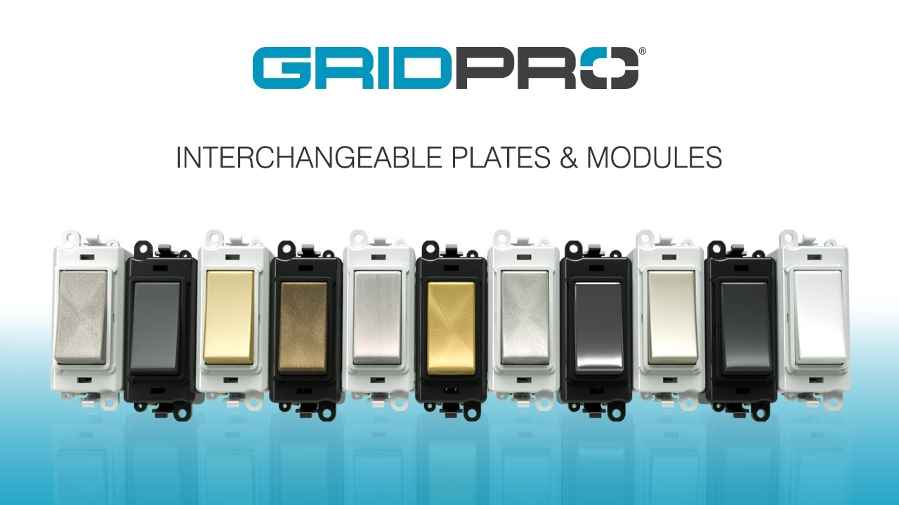 Alert Electrical - Click Grid Pro Interchangeable Plates & Modules