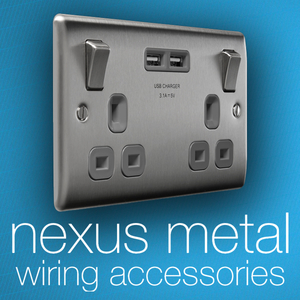 Alert Electrical - BG Nexus Metal Switches & Sockets