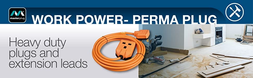 Alert Electrical - Masterplug Heavy Duty Plugs & Extension Leads