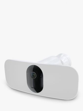 Arlo Pro 3 Battery Floodlight with Motion Activated Security Camera White | FB1001-100EUS
