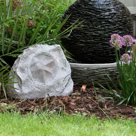 Lithe Audio All-in-one Bluetooth Outdoor Garden Rock Speaker | 01620