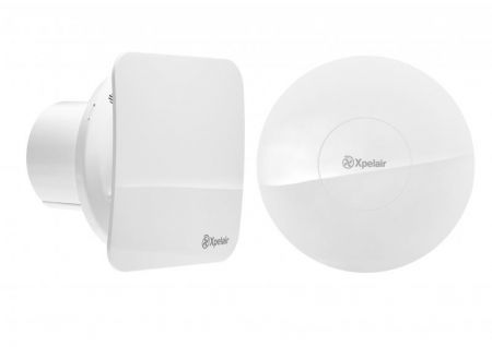"Xpelair CV4R Simply Silent 4"" 100mm Round Constant Volume Bathroom Fan 92969AW"