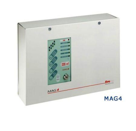ESP Fireline 4 Zone Fire Alarm Panel - Metal Casing