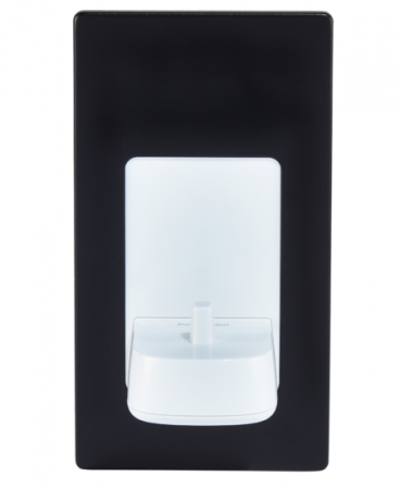 ProofVision Black Steel Cover for in PV10P Wall Electric Toothbrush Charger | PV10-B-FR