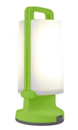 Lutec Dragonfly Portable Solar Lamp in Green 6904101339