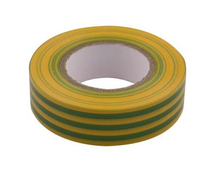 PVC General Purpose Insulation Tape Green/Yellow TP3GY