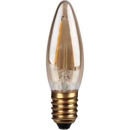 Kosnic Lamps 2w Decorative LED Filament Gold Candle Lamp E27/ES KFLM02CNDE27-GLD