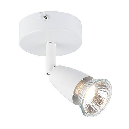 Endon Amalfi Single Surface Spotlight Gloss White 43281