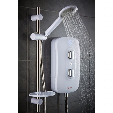 Redring Glow 9.5kW Phased Shutdown SmartFit Connection Electric Shower | 53535101