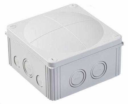 Wiska COMBI 1010/5 IP66/67 Weatherproof Junction Box 140x140x82mm Grey 60703