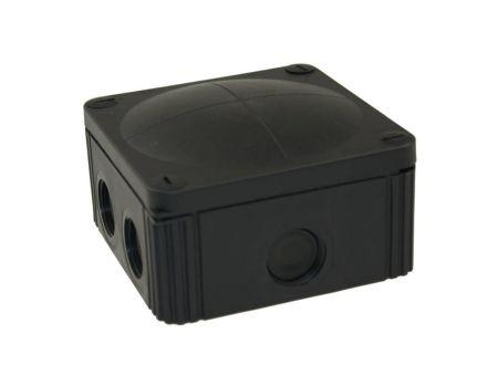Wiska COMBI 607/5/S IP66/67 Weatherproof Junction Box 110x110x66mm Black 61779