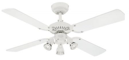 """Westinghouse Princess Euro 42"""" Ceiling Fan with Light Kit 72113"""