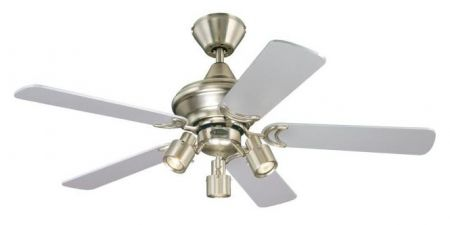 """Westinghouse Kingston 42"""" Reversible Blades Ceiling Fan with Light 72114"""