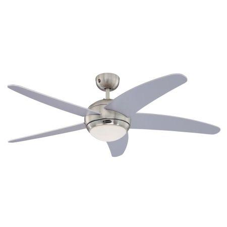 Westinghouse Bendan 52-inch Silver Blades Indoor Ceiling Fan 72220