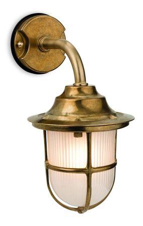 Firstlight 7660BR Nautic Exterior Wall Light IP64 Brass Finish