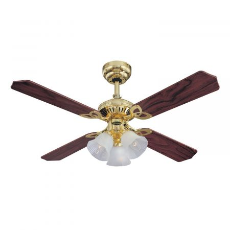"""Westinghouse Princess Trio 42"""" Ceiling Fan With Lights 78199"""
