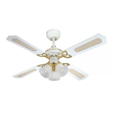 """Westinghouse Princess Trio 42"""" Ceiling Fan With Lights 78324"""