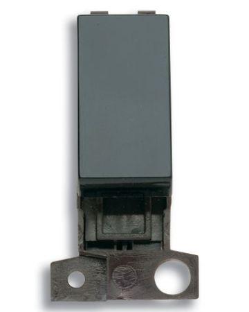 Click MiniGrid 2 Way 10AX Black Switch Module