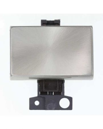 10AX 2 Way Paddle Switch - Brushed Steel