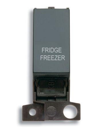 13A Resistive 10AX Black Switch Module - Fridge Freezer