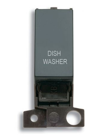 13A Resistive 10AX Black Switch Module - Dishwasher