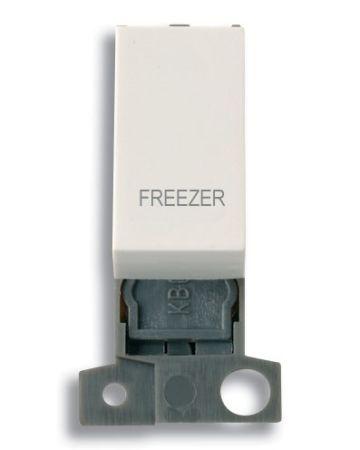 13A Resistive 10AX Switch Module - White - Freezer