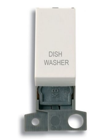 13A Resistive 10AX Switch Module - White - Dishwasher