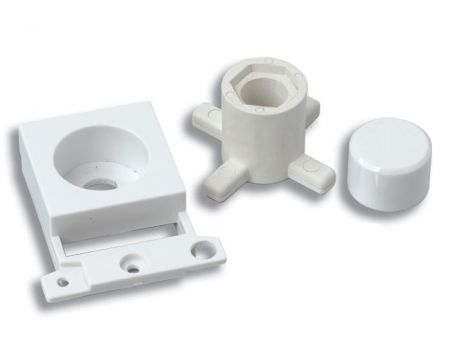 Click Dimmer Module Mounting Kit - White