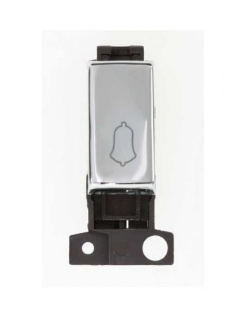 Ingot 10a 1 Way Retractive Sw Bell - Polished Chrome