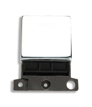 Ingot 20a DP Twin Switch - Polished Chrome