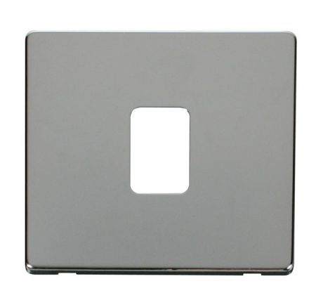 20a Double Pole Switch  Cover - Chrome