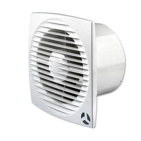 Airflow Aura Ecoair 150mm Adjustable Humidistat With Timer Fan 9041353