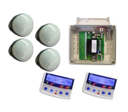 GJD Dygizone Security Lighting Kit Satin Chrome Dygizone Keypad GJD600C
