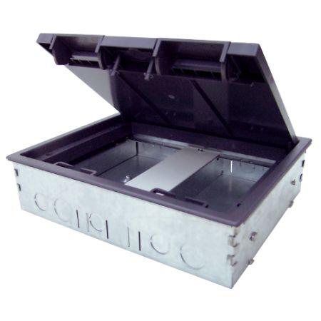 Tass 2 Compartment Screed Floor Box | TSB2/80