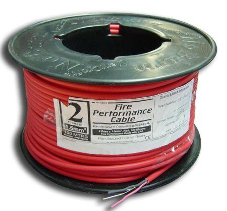 Ventcroft NoBurn Platinum 2.5mm 4 core + CPC  Fire Alarm Cable