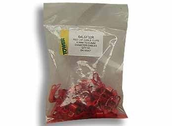 LSF P Clips 10.1mm - 10.7mm in red